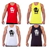 Camiseta Regata Academia Cavada Bodybuild Animal Universal