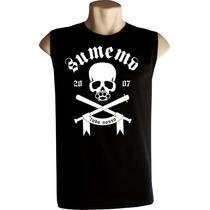 Camiseta Regata Machão Sumemo Skate Bandas Rock