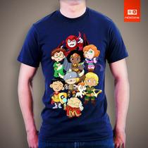 Camisetas Tv E Desenhos - Caverna Do Dragão Kids