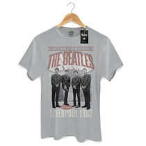 Camiseta Masculina Oficial The Beatles Liverpool 1962 Bandup