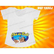 Chá De Bebê Camiseta Blusa Bata Gestante Gravida