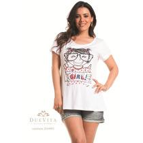 Tshirt Mamãe De Meninas It