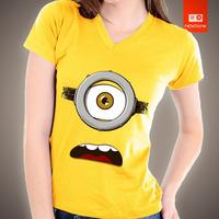 Camisetas Minions Desenho Animados 100% Algodão Estampas