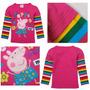 Blusa Infantil Peppa Pig Pronta Entrega Excelente Qualidade