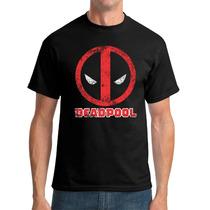 Camisa / Baby Look Deadpool Marvel