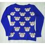 Blusa De Tricot Maschino - Blusa Trico Ursinho Ted