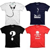 Camiseta Divertidas Engraçadas Personalizadas Panico Comicas