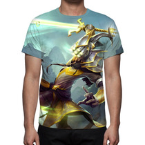 Camisa, Camiseta League Of Legends Master Yi - Estampa Total