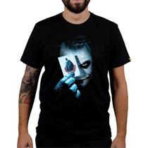 Camisa Camiseta Games Coringa Batman Modelos 89 A 94