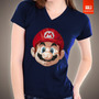Camisetas Tv E Video Games - Mario Bros Nintendo Nintendinho