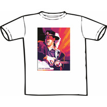 Camiseta Stevie Ray Vaughan - Srv Blues Jazz Só Nós Temos