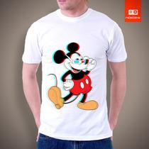 Camisetas Tv E Desenhos Animados - Mickey 3d Disney