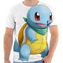 Camisa, Camiseta Masculina Otaku Anime - Pokemon 43