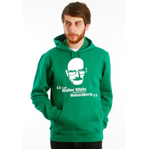 Blusa Breaking Bad Walter White Moletom Canguru