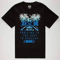 Camiseta Dgk Keys Black Skate - Pronta Entrega