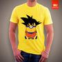 Camisetas Desenhos Filmes - Dragon Ball Minion Goku Dbz
