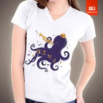 Camisetas 100% Algodão Penteado 30/1 Penteado - Lula Music