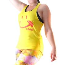 Regata Camiseta Feminina Fitness Academia Ginástica Zumba