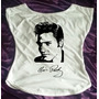 Camiseta Feminina Babylook Gola Canoa Elvis Presley 03