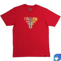 Camiseta Fallen Trademark - Skate-element-globe-adio- Shape