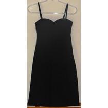 Vestido Básico Preto Alcinha