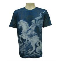 Camiseta Original Companhia Das Indias . São Jorge Vitral