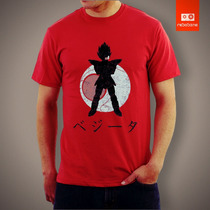 Camisetas Tv E Desenhos - Dragon Ball Dbz Vedita Vegeta