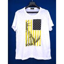 Mh Multimarcas - Camiseta Malha Flamê Iodice Original