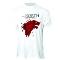 Camiseta The North Remembers - Camisa Game Of Thrones
