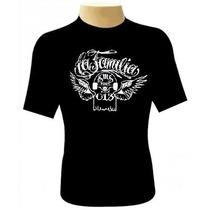 Camiseta La Familia - Camisa Charlie Brown Jr Skate