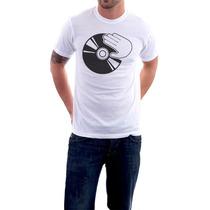 Camiseta - Fazendo Scratch - Vinil Dj - Masculino -feminino