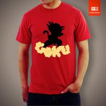 Camisetas Tv E Desenhos - Dragon Ball Dbz Goku