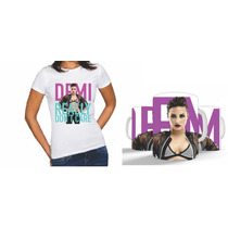 Kit Camiseta + Caneca Demi Lovato Exclusiva