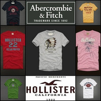 Camisetas Abercrombie & Fitch E Hollister 100% Original.