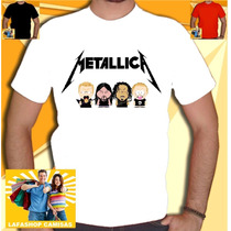 Camisa Metallica South Park Camiseta Unissex Banda Humor