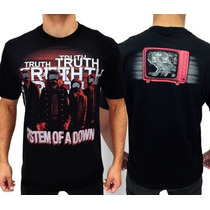 Camiseta De Banda - System Of A Down - Soad - Truth