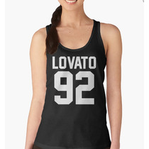 Blusa Feminina Regata College Demi Lovato 92 - 100% Algodão