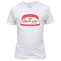 Camiseta Engraçadas Autenctic Hard Core