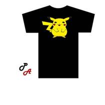 Camiseta Pikachu Desenho Pokemon