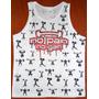 Camiseta Regata No Pain No Gain Musculação Estampada Frente