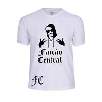 Camisas Camisetas Facção Central Rap Personalizadas Pop Funk