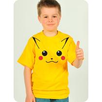 Camisa Pikachu - Infantil - Baby Look - Masculina