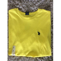Camiseta Raulph Lauren Gola Redonda Original