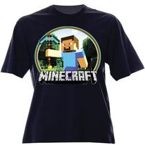 Camisa Infantil Do Minecraft Personalizada