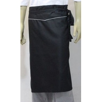 Kit 6 Pçs Avental De Cintura Gastronomia, Chef Cozinha