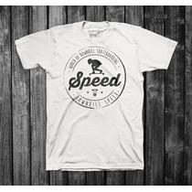 Camiseta Speed | 100% Algodão Malha Menegotti