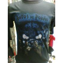 Camiseta Ratos Do Porão Grupo Cor Preta