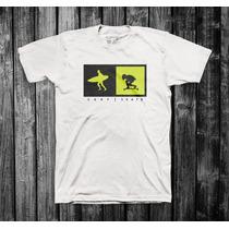 Camiseta Surf & Skate | 100% Algodão Malha Menegotti