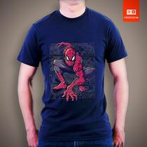 Camisetas Super Heroes Spider Man Homem Aranha Heores