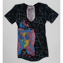 Camiseta Feminina C Bar A By Christian Audigier - Tam Pp